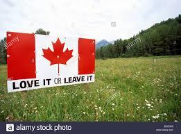 Flag British Columbia Canadian Flag Highway Road Billboard Sign In British Columbia