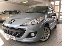 blue peugeot for sale used blue peugeot 207 for sale staffordshire