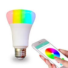 smart light bulbs amazon jiawen smart led wifi rgbw light bulb working with amazon alexa ac