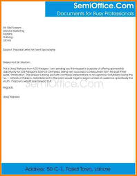 how to write a business proposal cover letter sample business