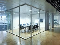 porte de bureau vitr cloison vitre coulissante cloison semi vitre de traves avec porte