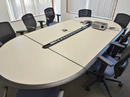 Teknion Conference Table Facility Services Group Teknion Conference Tables And Mesh Back