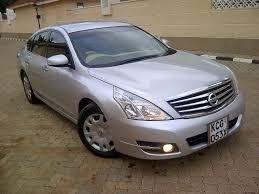 teana nissan 2010 nairobimail nissan teana new shape 2009 f loaded 2500cc v6 silver