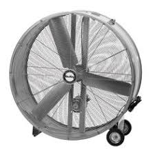 Q Standard Industrial Direct Drive Drum Fan 48in Model 10948