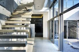 Hanging Stairs Design Apartment Great Staircase Design Connected The Second Floor At