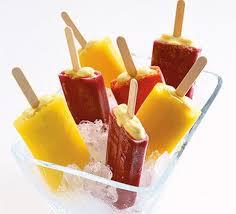 ices cuisine lollies on recipe food