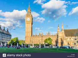 big ben clock tower above the palace of westminster and houses of