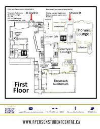 scc map facility maps ryerson centre