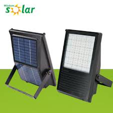 solar led flood lights powerful solar led flood lights with motion detector integrated