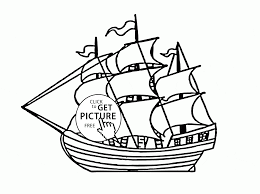 sailing ship coloring page for kids transportation coloring pages