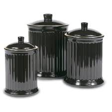kitchen certified international tuscan rooster 3 piece canister