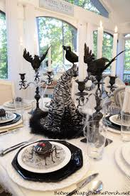dining ideas cool halloween dining table decorations full size