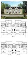 Multi Family Apartment Floor Plans Plan 67718mg Duplex House Plan For The Small Narrow Lot The