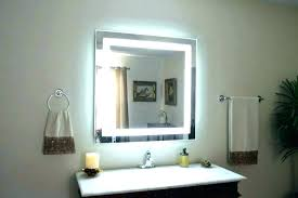 light up wall mirror lighted wall mirrors for bathrooms lighted bathroom wall mirrors