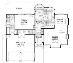 split level floor plans traditional split level house plan hunters
