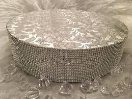 rhinestone cake stand 16 wedding cake stand stands rhinestone diamond wrap by inch gold
