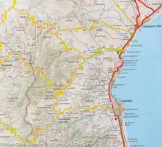 Map Of Southern Europe by Map Of Calabria Southern Italy Michelin U2013 Mapscompany
