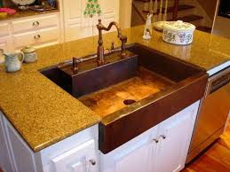 outdoor kitchen faucets outdoor kitchen sink and faucet ideas new copper kitchen sink