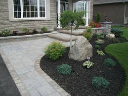 Front Entrance Landscaping Ideas An Easy And Charming Driveway Entrance Landscaping Idea Clayton