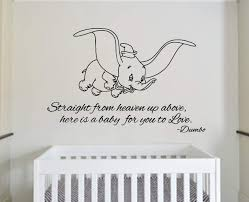 Elephant Wall Decals For Nursery by Adorable We Made A Wish Baby Elephant Wall Decal Sticker For Nursery U0027s