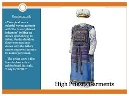 high priest garment the tabernacle exodus ppt online