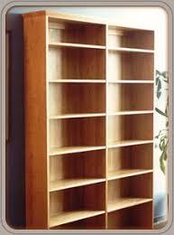 Solid Cherry Wood Bookcase Custom Wood Book Shelves