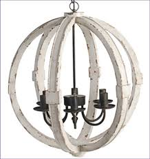 Wire Chandeliers Bedroom Awesome Wood Pendant Orb Light Chandelier Rustic