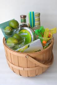 gift baskets for families harmony creative studio s summer neon margarita basket
