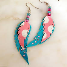 feather earrings for kids best 25 duct earrings ideas on duct dress