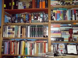 orpheus sings the guitar electric my bookshelves