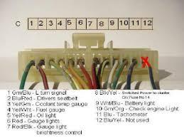 crx community forum u2022 view topic gauge cluster wiring