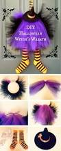 halloween witch pictures cute diy witch wreath tutorials u0026 ideas for halloween hative