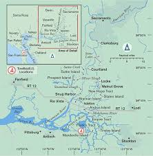 san francisco delta map exploring the california delta boatus magazine