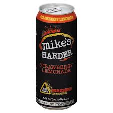how much alcohol is in mike s hard lemonade light mike s hard harder strawberry lemonade 8 abv from ralphs instacart