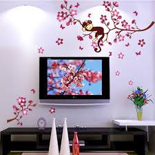 Monkey Nursery Decals Online Get Cheap Kids Wall Decals Tree Aliexpress Com Alibaba Group