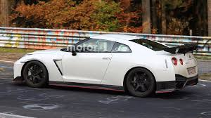 2017 nissan gt r nismo nissan spied testing hotter gt r nismo with fender vents