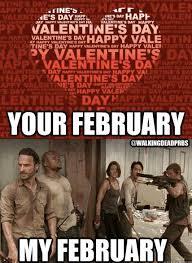 Walking Dead Valentines Day Meme - 126 best valentine s twd images on pinterest the walking dead