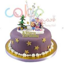 dcc119 purple party designer christmas cakes u2013 cake square chennai