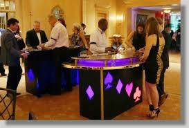 table rentals dc uniquely dc casino events production in washington dc