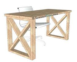Diy Desk Plans Easy Diy Desk Filterstock