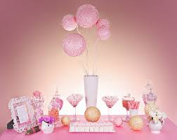 Pink And White Candy Buffet by Diy Pink U0026 White Candy Table What U0027s The Lotus