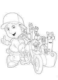 36 handy manny party ideas images coloring