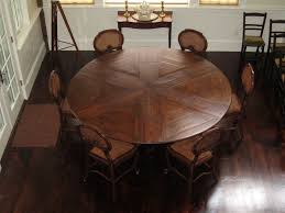 mesmerizing round expandable dining room table images ideas