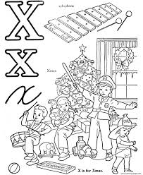 x words alphabet s563a coloring pages printable