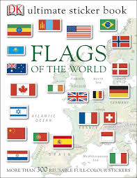 Do Continents Have Flags Buy Flags Of The World Ultimate Sticker Book Dk Sticker Books