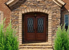 divine double front doors for homes featuring arched rustic wood