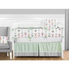 Green And White Crib Bedding Baby Bedding For Less Overstock