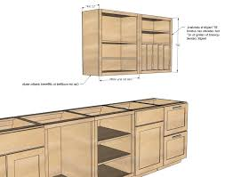 kitchen kitchen cabinet plans intended for amazing ana white