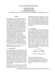 cara membuat laporan praktikum elektronika karakteristik dioda 04 k1c015062 putra tresna linge