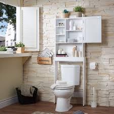 Bathroom Space Saver Cabinet Toilet Tank Top Organizer Bathroom Medicine Cabinet Shelf Space